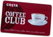 Costa Coffee Card