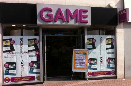 Southend GAME store on 3DS Launch day