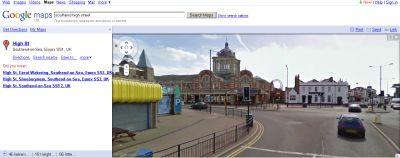 Google streetmaps of Southend