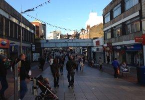 Southend High Street, upper half