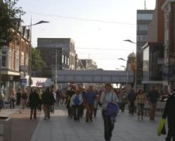 Southend High Street, upper half