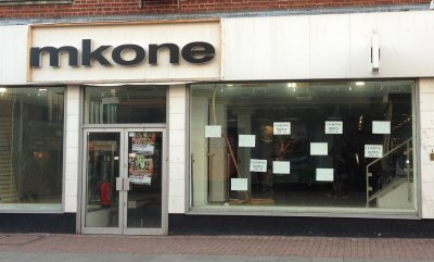 Site of MK One, Southend January 2011