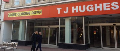 T J Hughes Site in Southend 2012