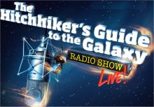 Hitchhikers Guide To The Galaxy Radio Show Live Logo