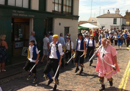 Leigh Folk Festival Parade