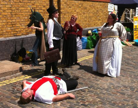Street Theatre at the Festival