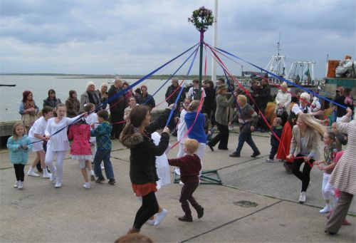 More dancing around the maypole