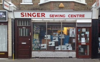 Singer Sewing Machine Shop, York Road, Southend