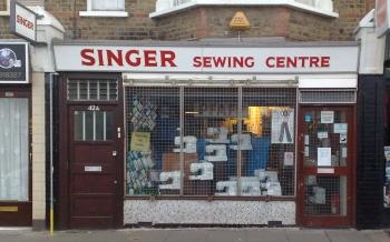 Singer Sewing Machine Shop, York Road, Southend