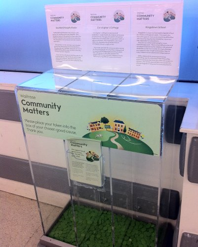 Community Matters Waitrose Leigh-on-Sea March 2011