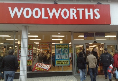 Woolworths, Southend Decemeber 2008