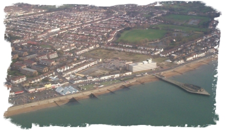 Southend from the air