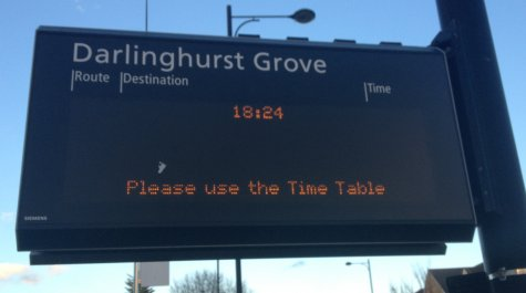 Southend-on-Sea Electronic Bus Sign