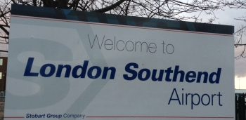 Southend Airport Sign