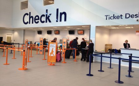 Southend Airport Check In Desk