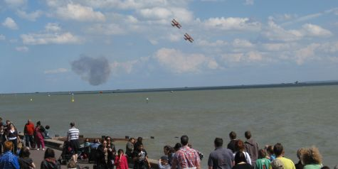 Southend Airshow 2010 - Wing Walkers
