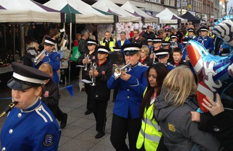 Southend Xmas Parade - Brass Band