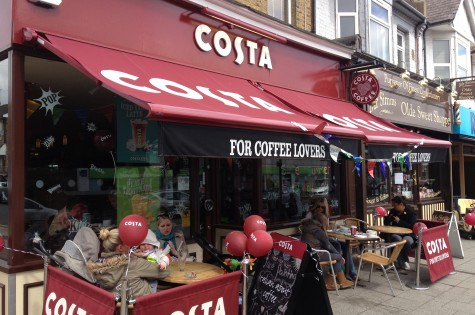 Costa Coffee, The Broadway, Leigh-on-Sea