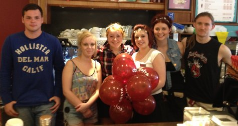 The staff at Costa Coffee, Leigh-on-Sea