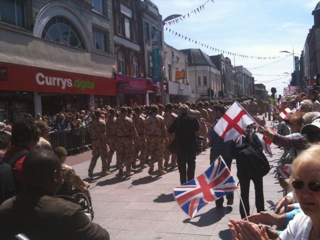 Live from Freedom of Southend Parade