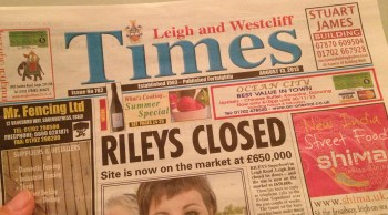 Leigh Times 13 August 2013